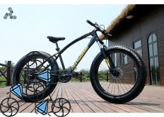 Велосипед FatBike Jaguar Black (Фэт-Байк)