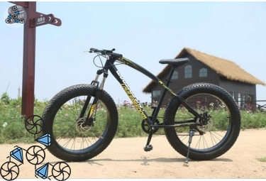 Велосипед FatBike Jaguar Love Freedom Black (Фэт-Байк)