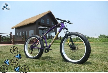 Велосипед FatBike Jaguar Love Freedom Violet (Фэт-Байк)