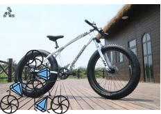 Велосипед FatBike Jaguar Love Freedom White (Фэт-Байк)