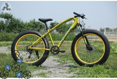 Велосипед FatBike Jaguar Love Freedom Gold (Фэт-Байк)