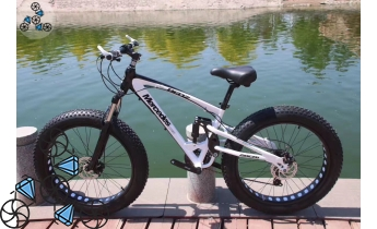 Велосипед FatBike Mercedes M3 White Black