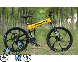 В чем достоинства велосипеда на литых дисках?